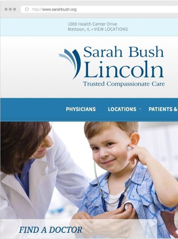 Sarah Bush Lincoln Connects with Patients using Web Technology